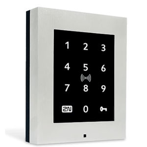 RFID card reader / smart / for access control / with integrated keypad