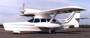 single-engine seaplane / passenger / tourist / rescue