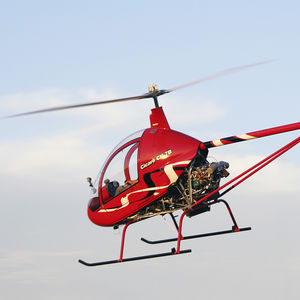single-seat ultralight helicopter