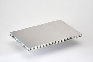 seat sandwich panel / aluminum facing / aluminum honeycomb core / for doors