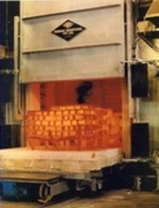 combustion furnace / chamber / for aeronautics