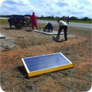 photovoltaic solar panel / for airports