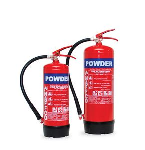 dry powder fire extinguisher / for airports