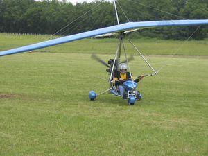 single-seat ultralight trike