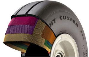 light aircraft tire / main landing gear / 15in / 6in