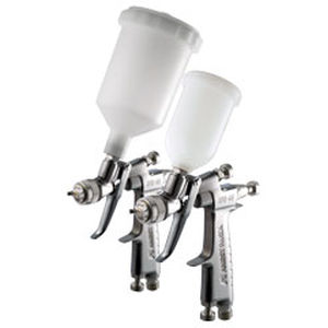 manual paint spray gun / for aeronautics / HVLP