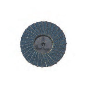 zirconia abrasice disc / for finishing / for ferrous materials / for the aerospace industry