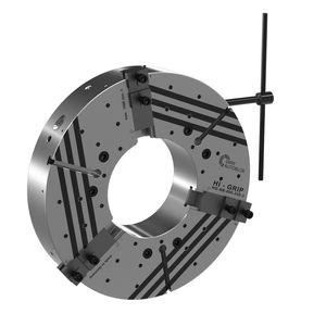 manual tightening chuck / turning / for aeronautics