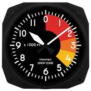aircraft themed clock