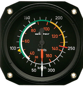 aircraft airspeed indicator / analog