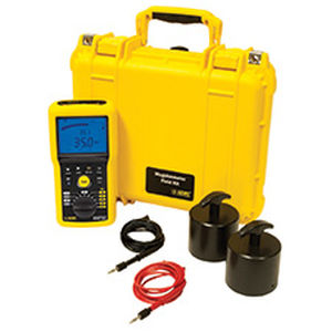 portable megohmmeter / low-resistance / for the aeronautical industry
