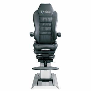 flight simulator seat / crew / leather