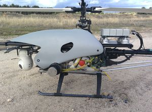 professional UAV / agricultural / for firefighting / helicopter