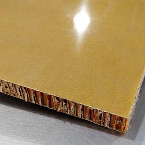 fiberglass facing sandwich panel / honeycomb / for the aerospace industry