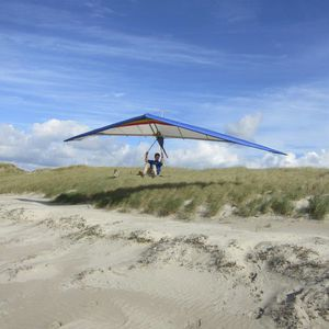 beginner hang-glider / single place / tandem
