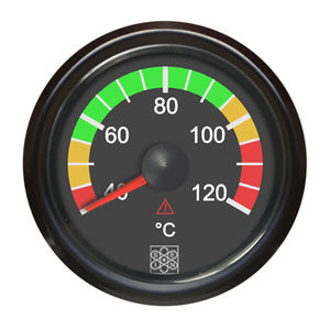 temperature gauge / analog / engine / for aircraft