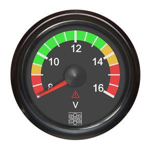on-board voltmeter