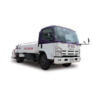 self-propelled lavatory truck