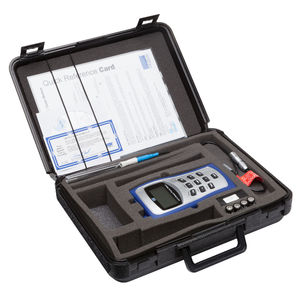 digital gaussmeter / portable / for the aeronautical industry