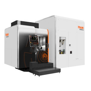 5-axis machining center / horizontal / CNC / for the aerospace industry