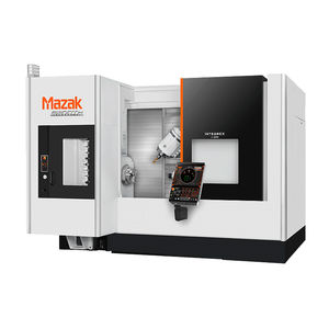 5-axis machining center / with swiveling spindle / CNC / for the aerospace industry