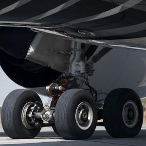 airliner landing gear