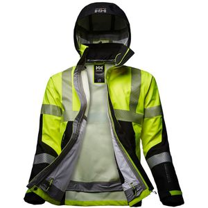 work jacket / for runway personnel / high-visibility