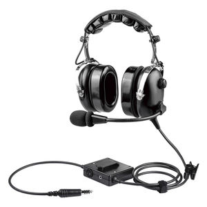 commercial aviation headset / for helicopters / for pilots / noise-reduction