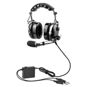 general aviation headset / for pilots / noise-reduction