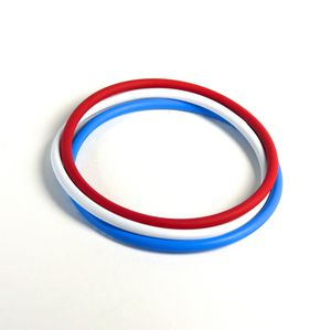 O-ring seal / circular / rubber / for aircraft