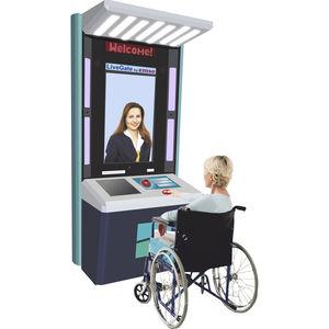 reception interactive kiosk