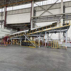 aeronautic wing dock