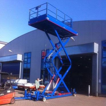 working lifting platform