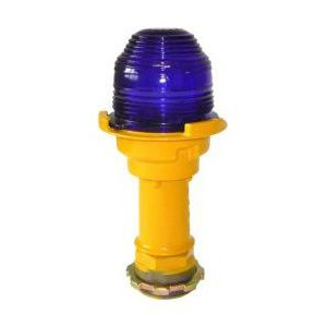 taxiway light / for airport runways / halogen / blue