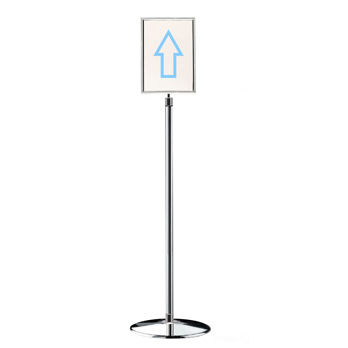directional sign / static / for airport terminals / wall-mounted