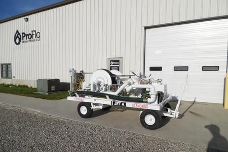 towed hydrant cart