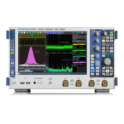 digital oscilloscope / multi-channel / bench-top / for the aeronautical industry