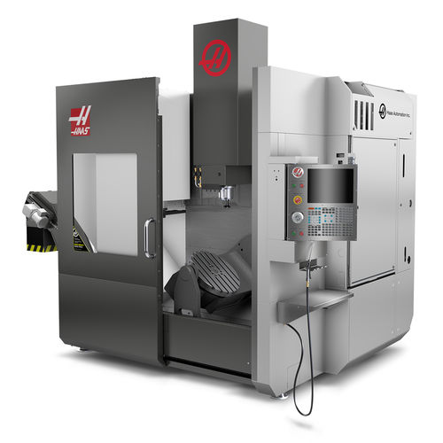 5-axis machining center / vertical / universal / for aeronautics
