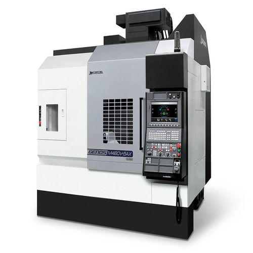 5-axis machining center / vertical / CNC / for the aerospace industry