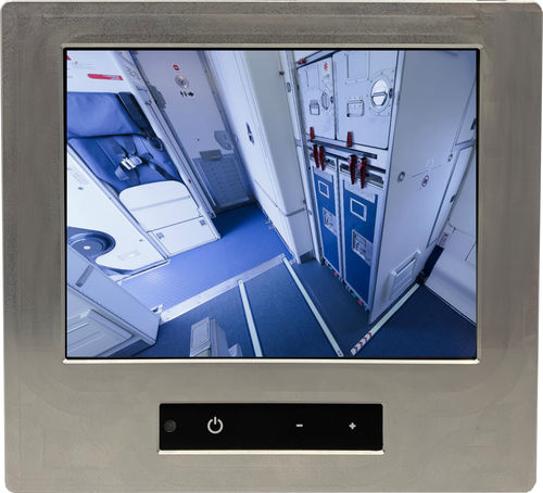 inflight entertainment aircraft cabin display / touch screen