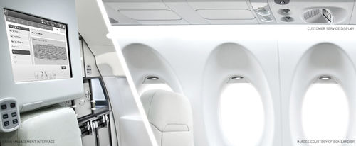 aircraft cabin management system