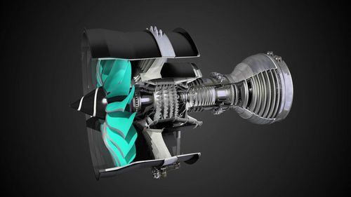 0 - 100kN turbofan / for airliners