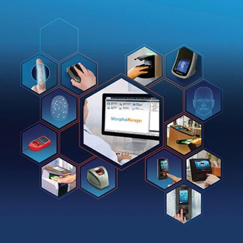 control software / access control / scanner / biometric