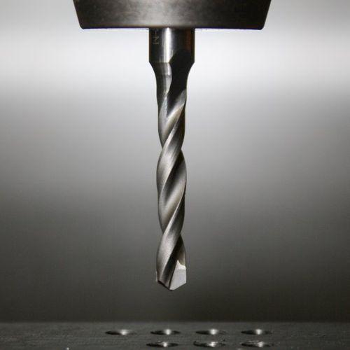 steel drill bit / for composites / for aeronautics