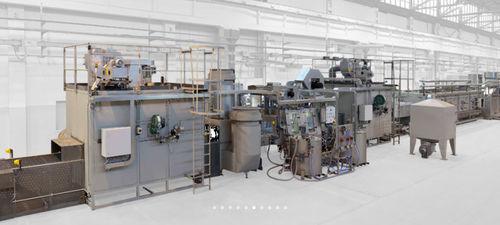 car bottom furnace / conveyor / for aeronautics / for the aerospace industry