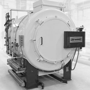 gas furnace / chamber / for the aerospace industry