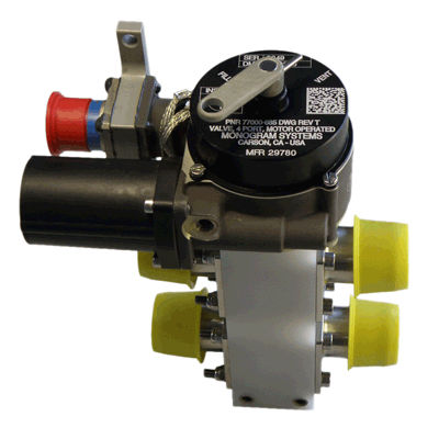 water valve / drain / flow control / for airliners