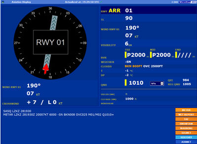 Airport weather station - IMS AWOS - MICROSTEP-MIS