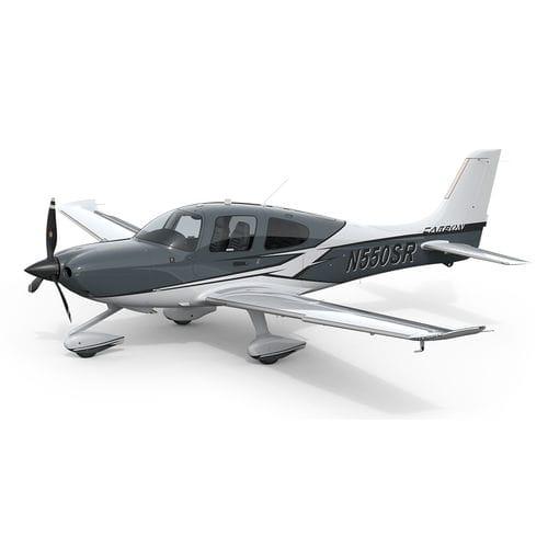 4-seater private plane / piston engine / single-engine / instructional
