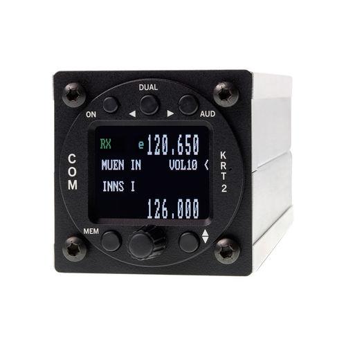 VHF transceiver / AM / intercom / for aircrafts